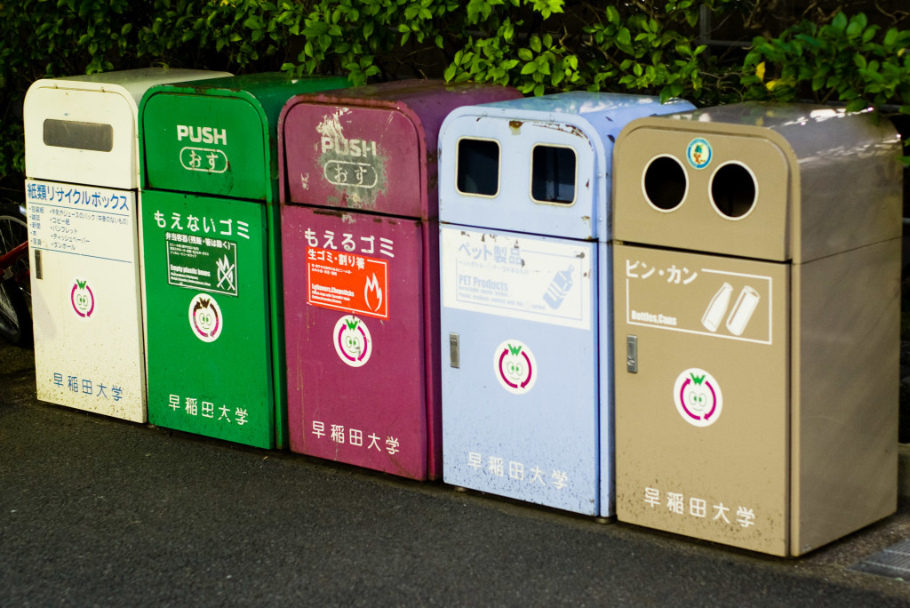 Japan recycling
