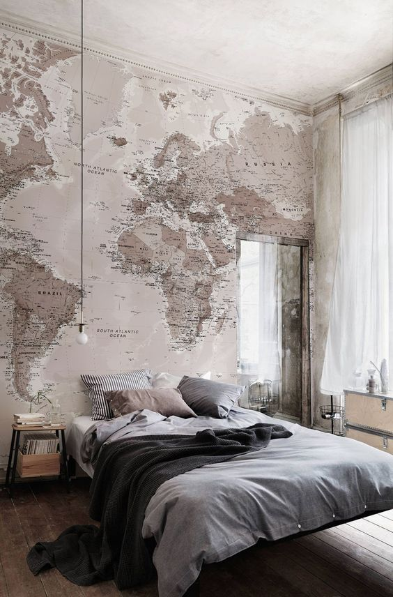 Map in Room
