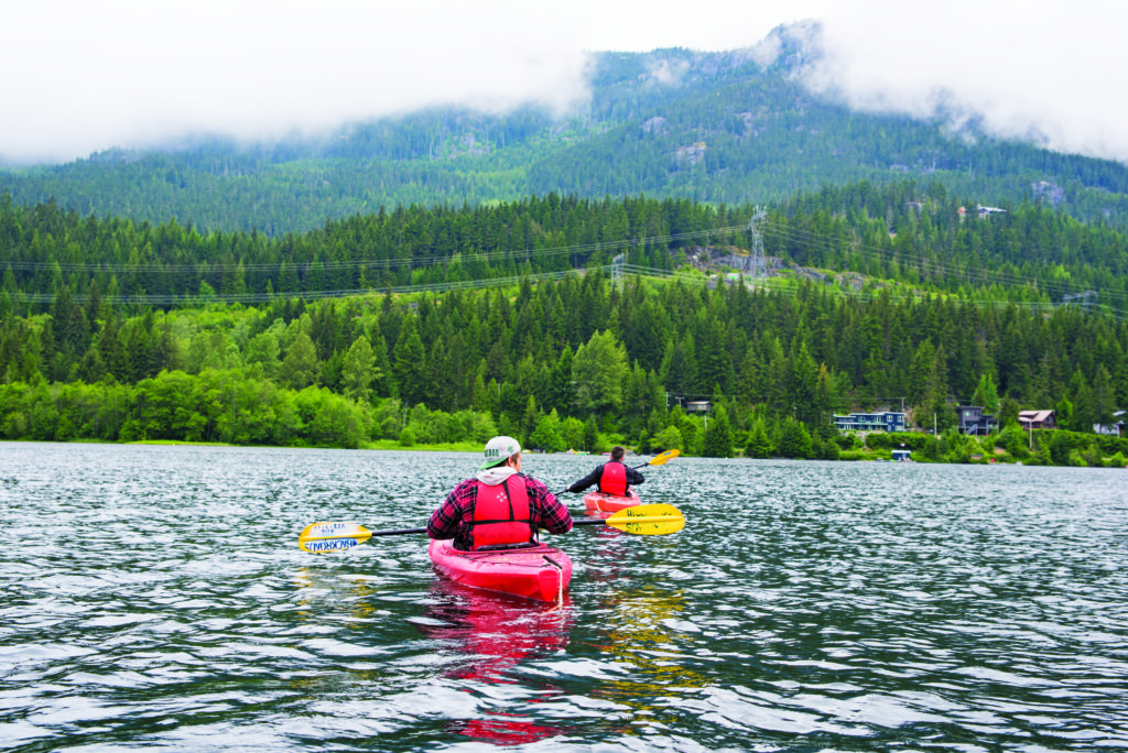 two boys canoeing in Canada - change your life