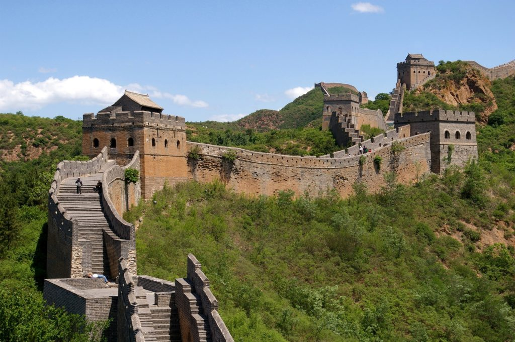 2017's best travel experiences - Great wall of china