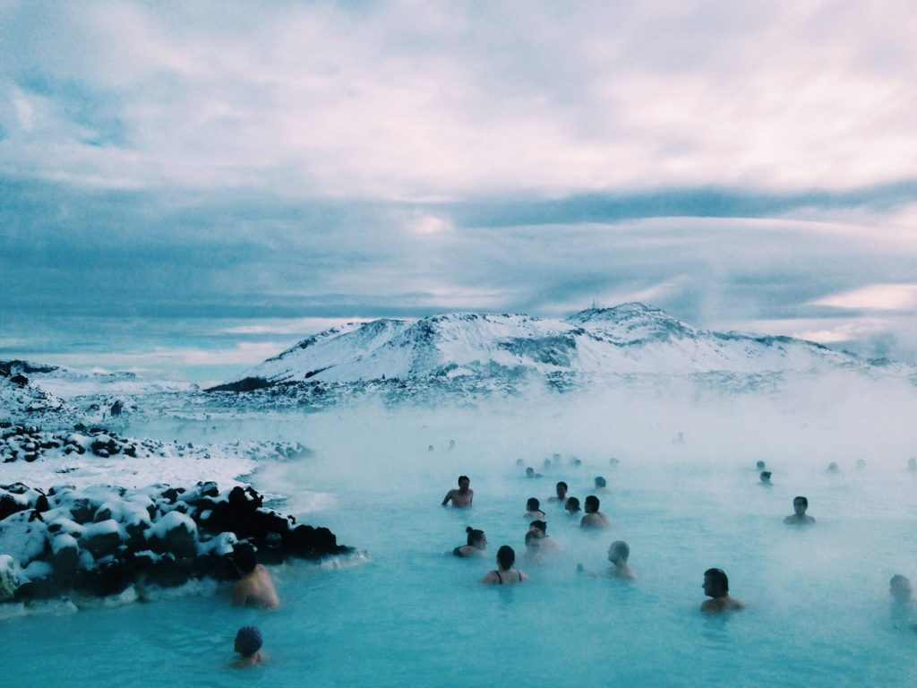 2017's best travel experiences - blue lagoon in Iceland
