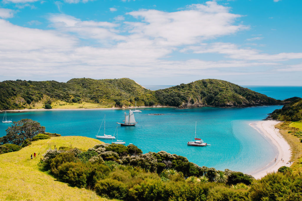 bay of islands in new zealand