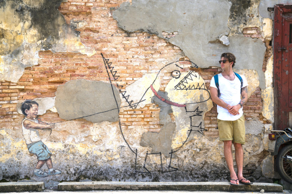 solo male traveller in Penang