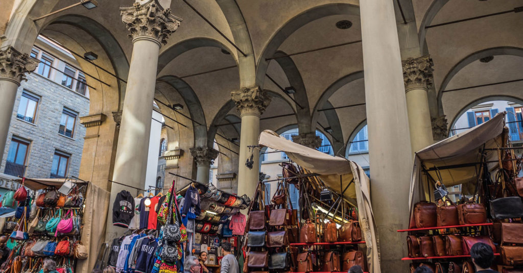 leather goods in Florence