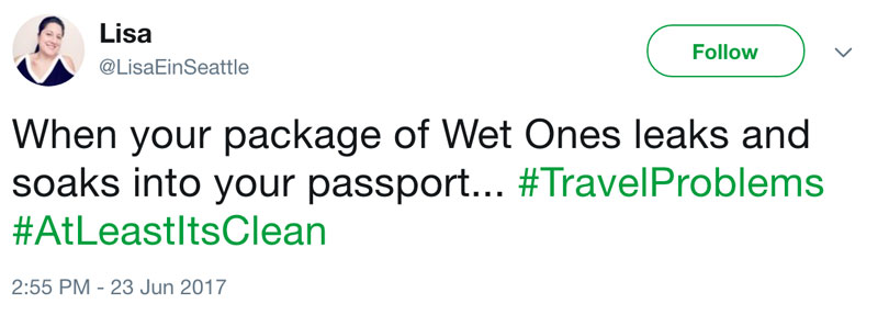 twitter complaint about passport