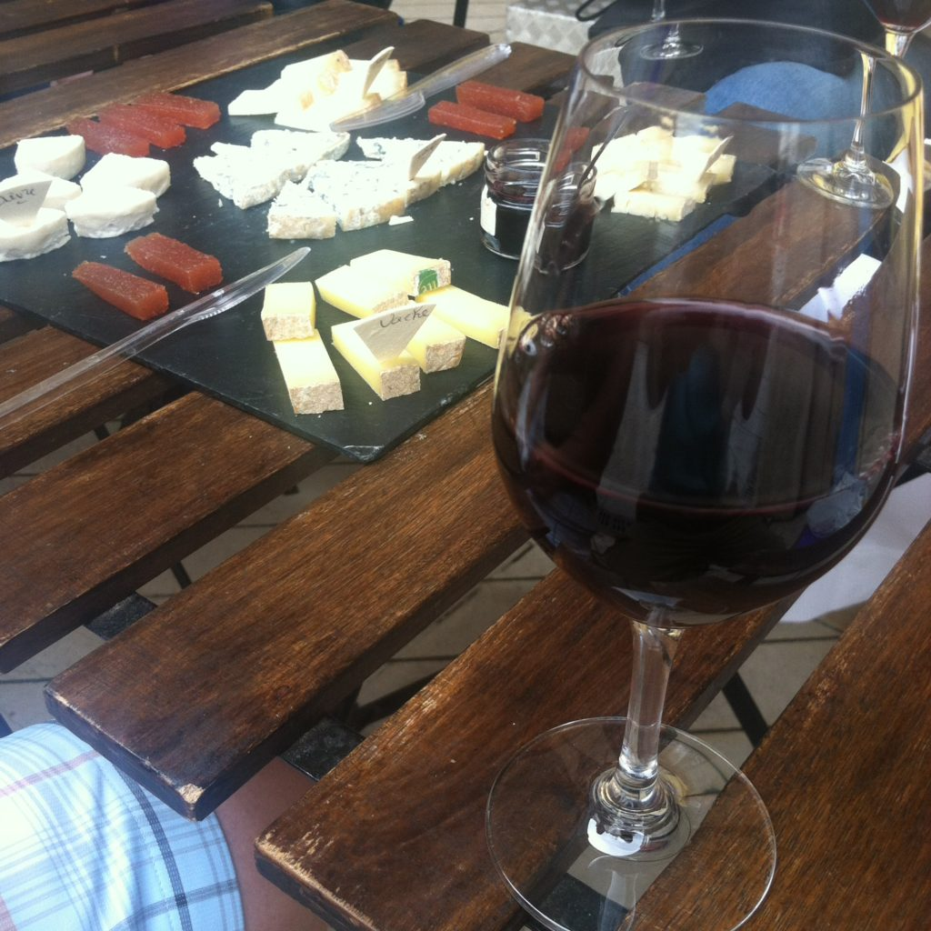French wine and cheese