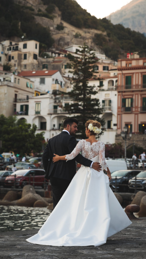 Wedding on the Amalfi Coast, photographed by Earth Focus