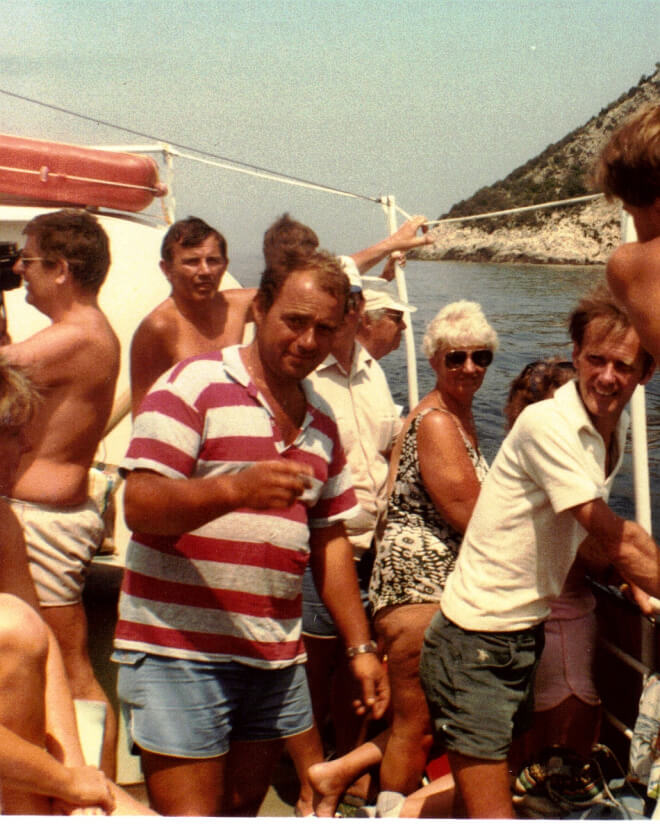 George's boat 1984