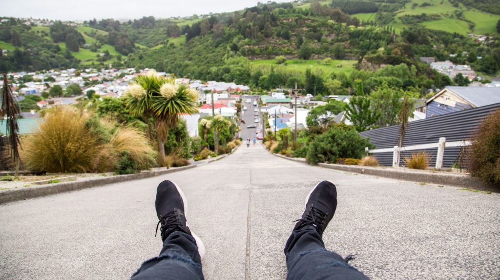a hill in new zealand