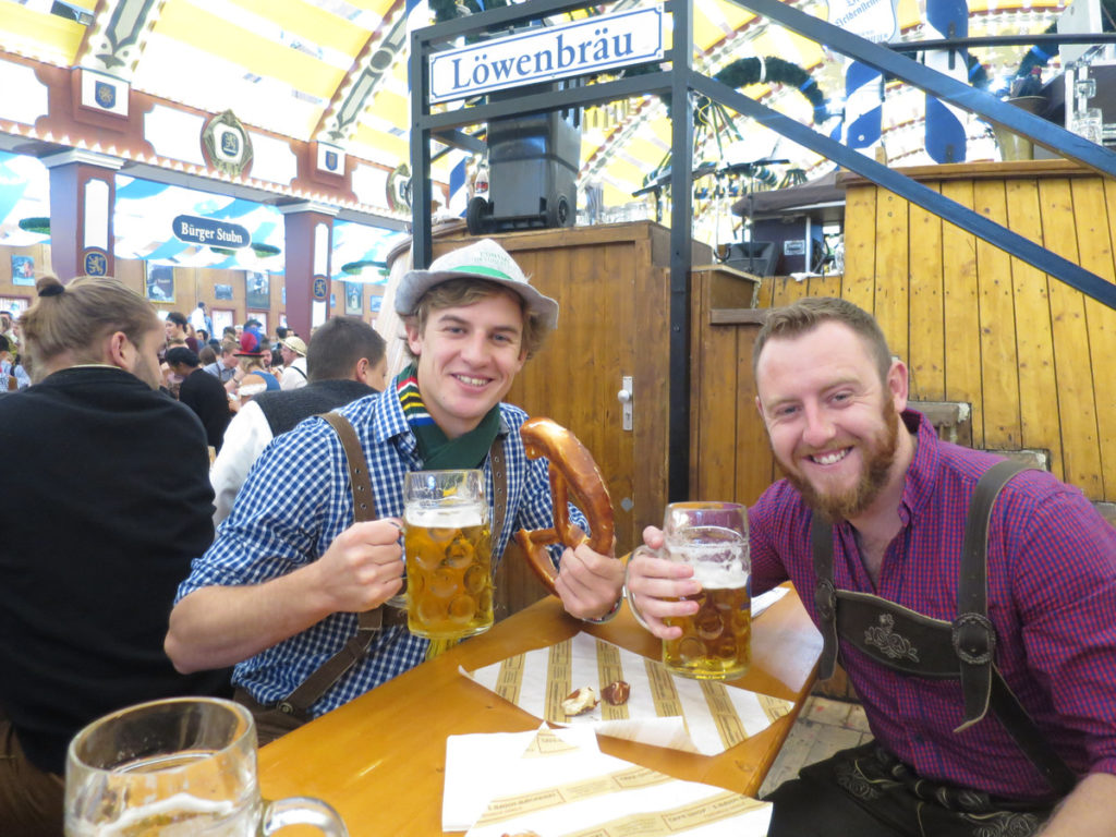 Travel to Germany for Oktoberfest
