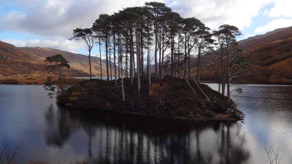 Eilean na Moine and Loch Eilt, Lochaber, both Harry Potter filming locations