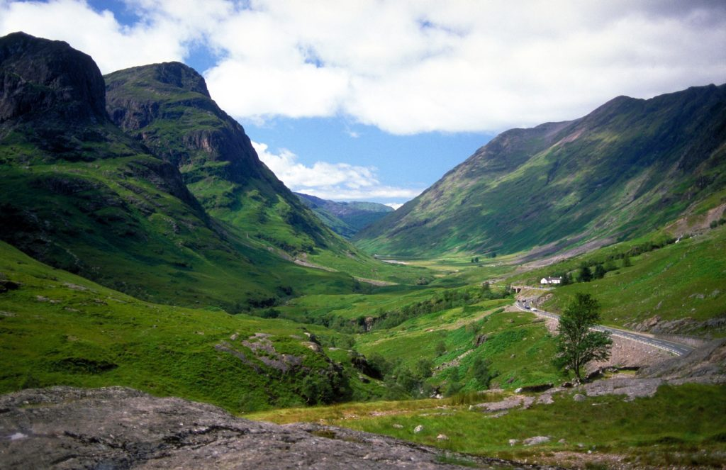 Glen Coe, Highland for Harry Potter filming locations