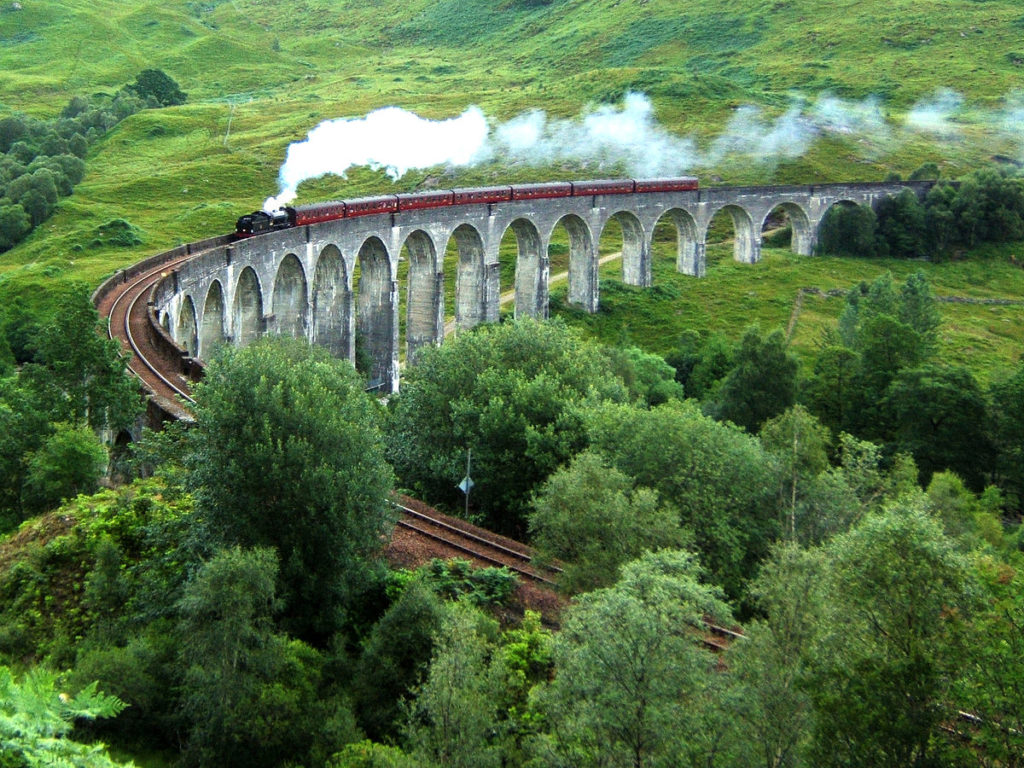 Glenfinnan Viaduct, Lochaber, a Harry Potter filming location