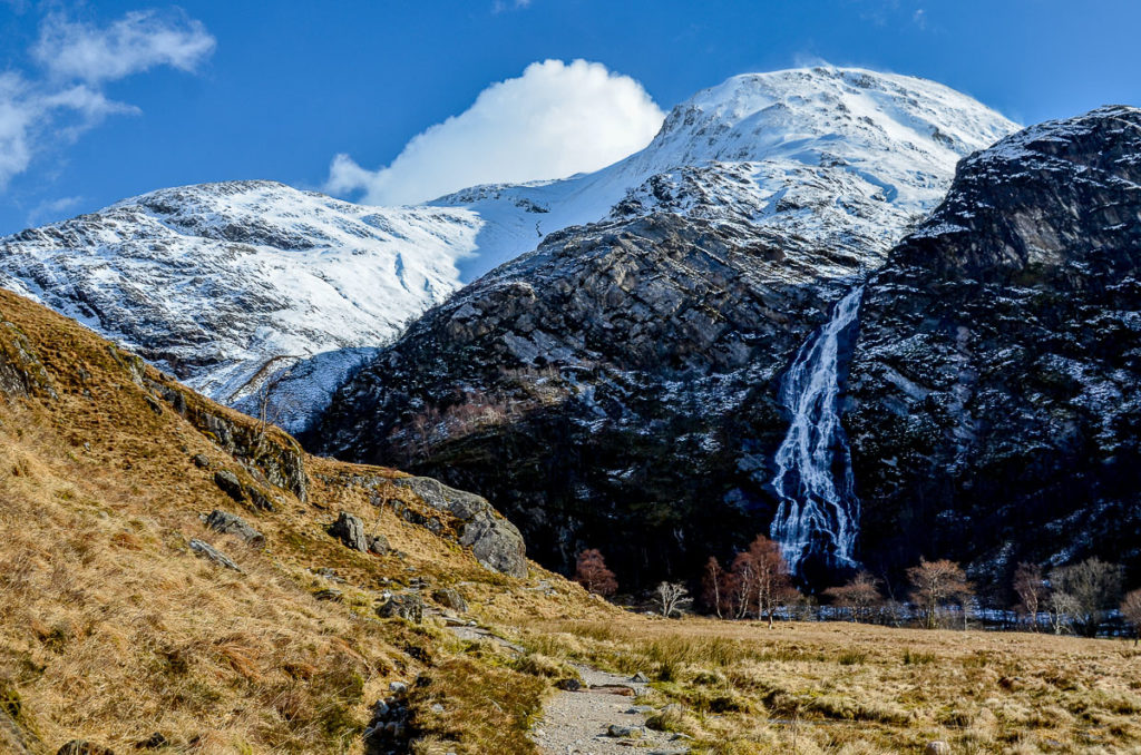 Steall Falls, Glen Nevis for harry potter filming locations