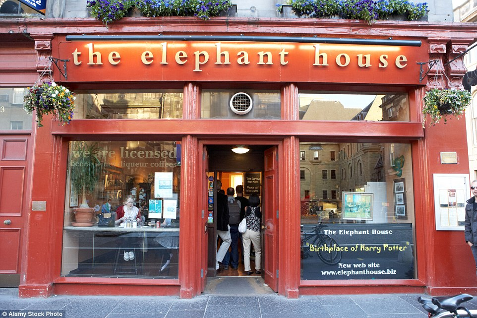 The Elephant House Cafe Edinburgh