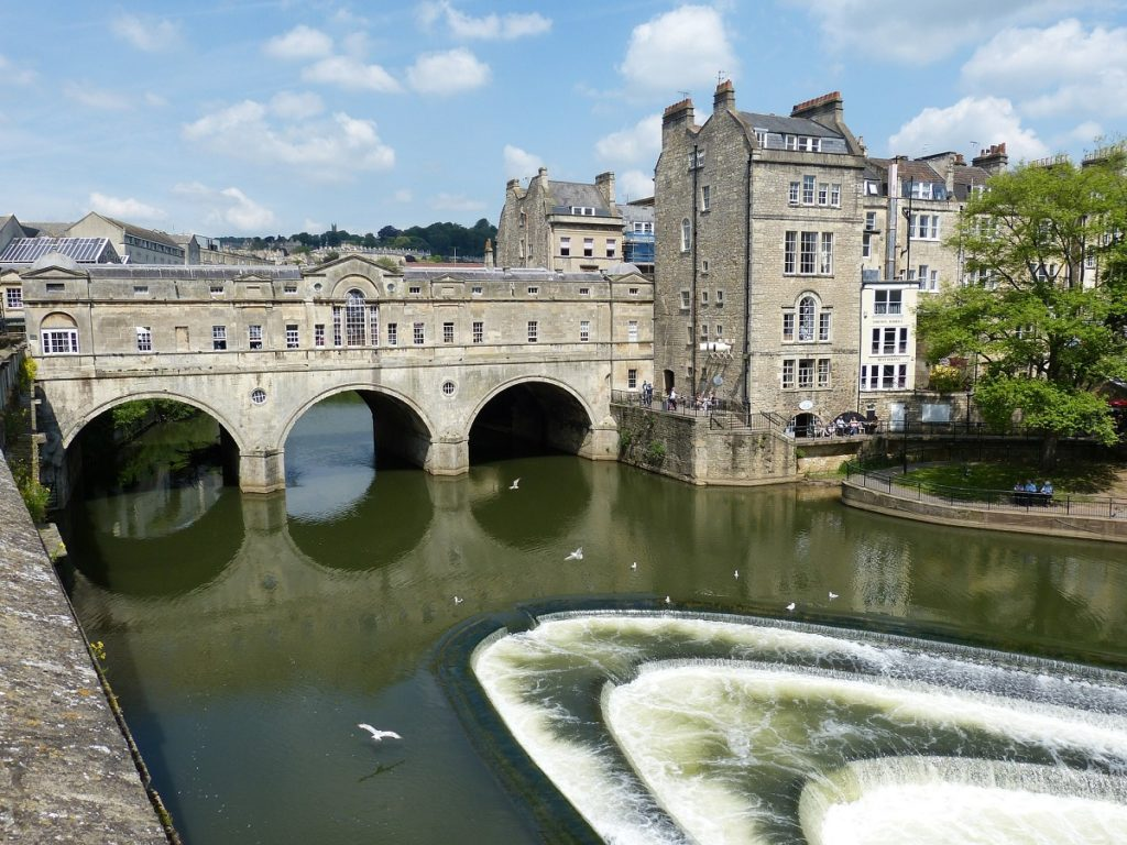 places to visit in England - Bath