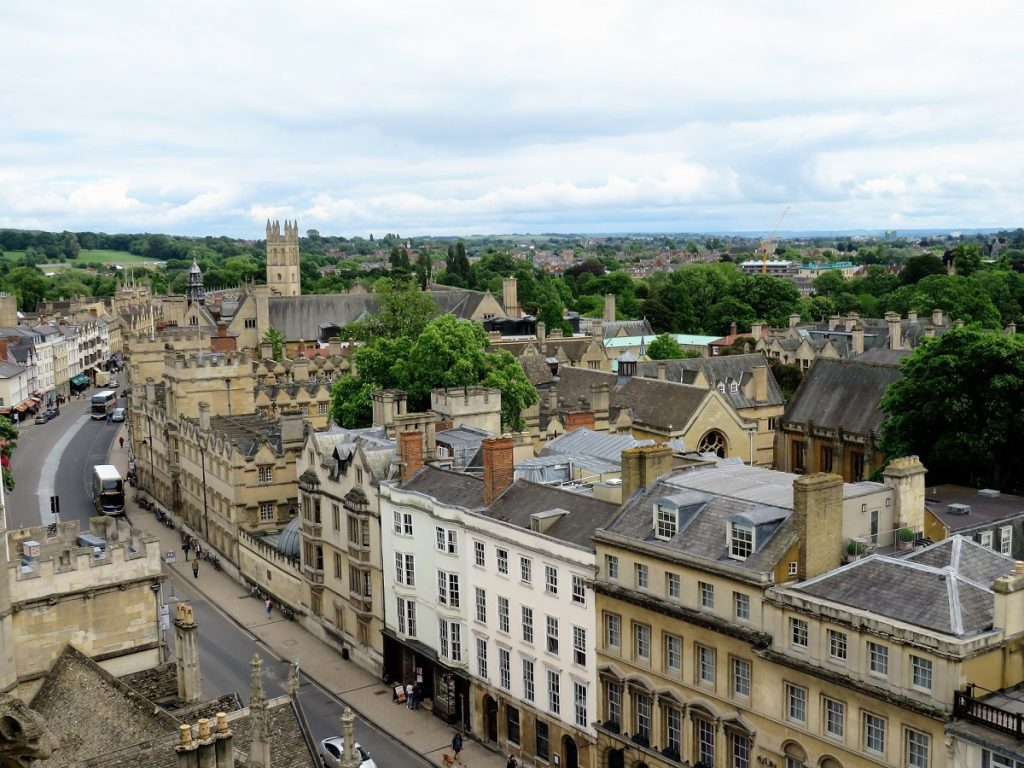 Places to visit in England - Oxford