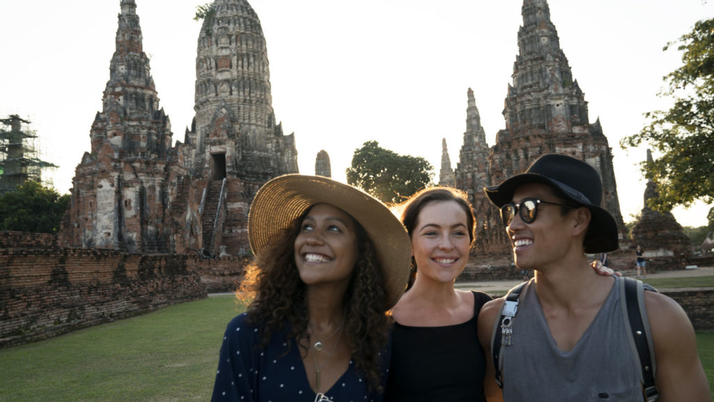 travellers in thailand