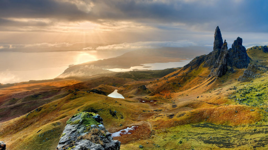 things to do in Scotland - iconic scenery