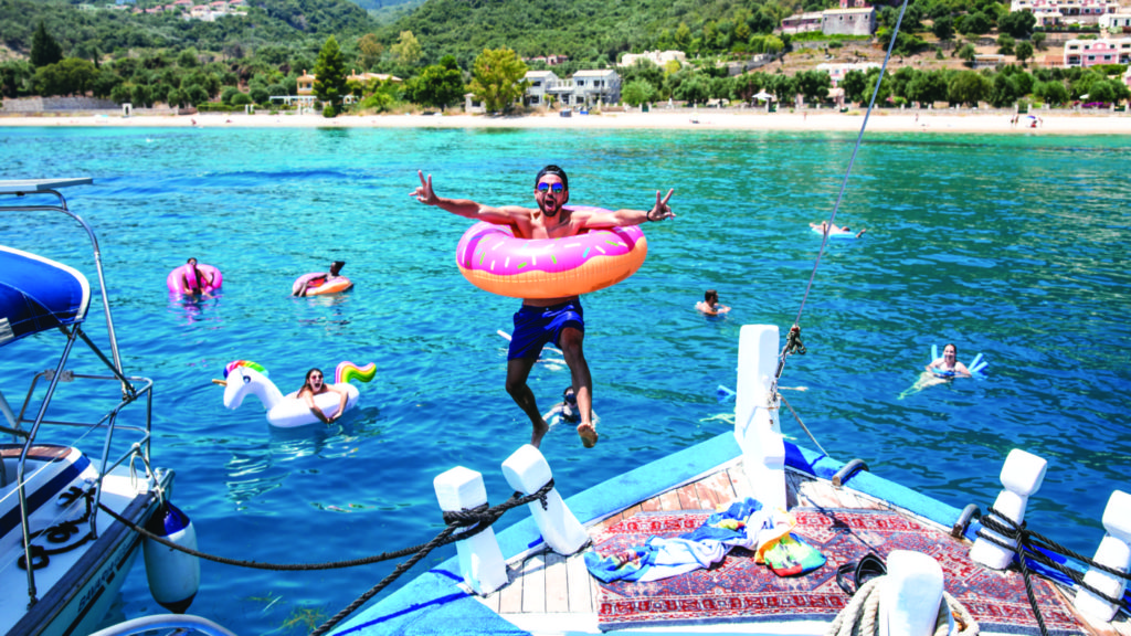 Greek Island Hopping - for the water