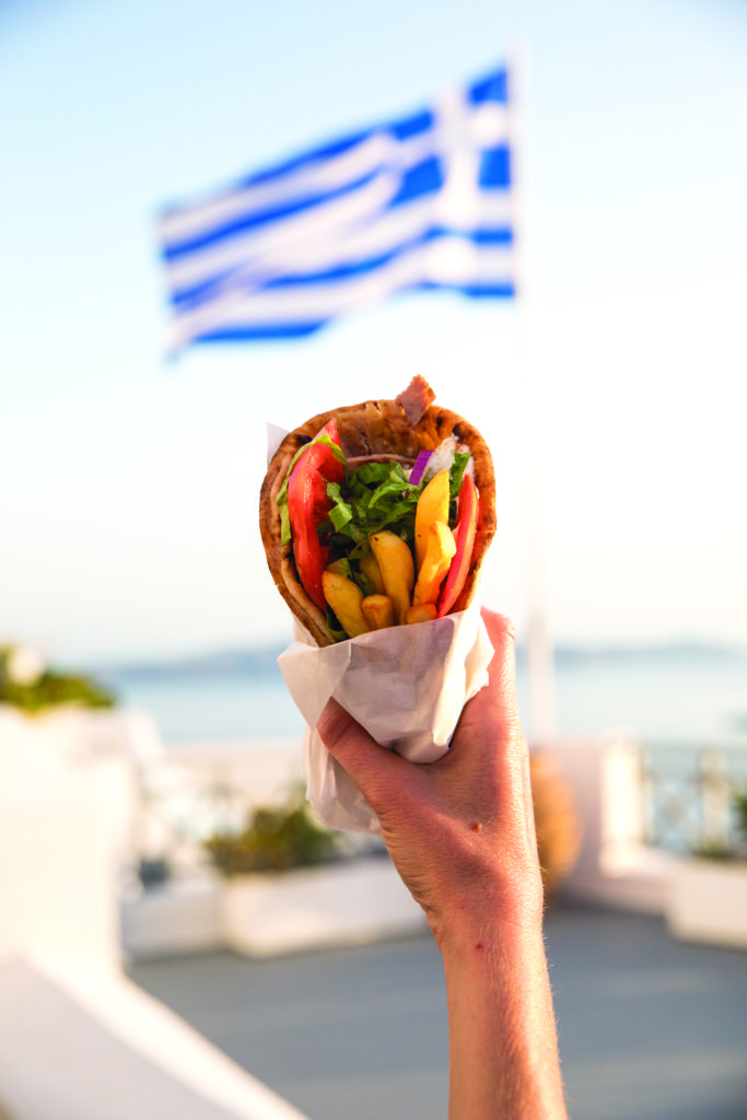 Greek Island Hopping - for the food