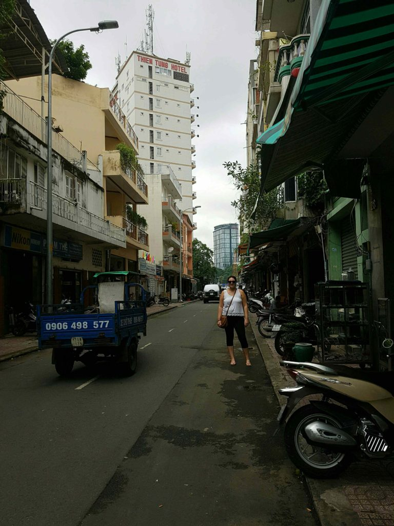 Girl in Ho Chi Minh City