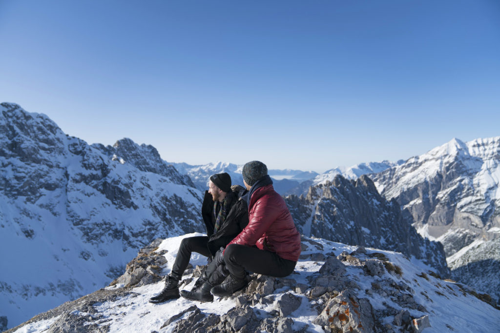 Two-friends-on-mountain