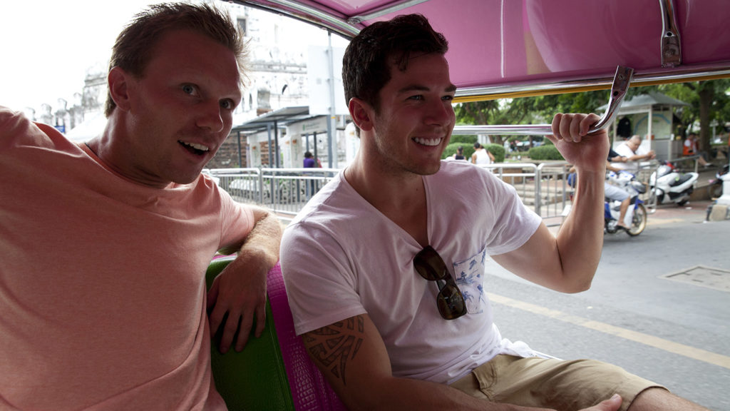 Two-lads-in-Asia-Rickshaw
