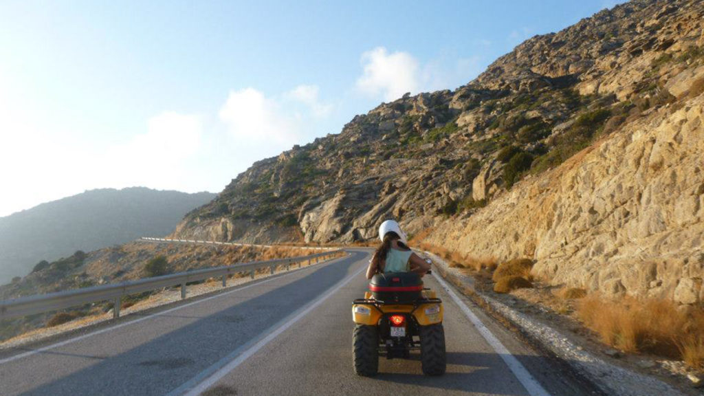 Greece-tractor-riding-Contiki-love