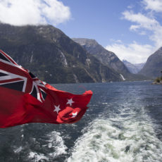 New-Zealand-nature-Milford-Sound-flag