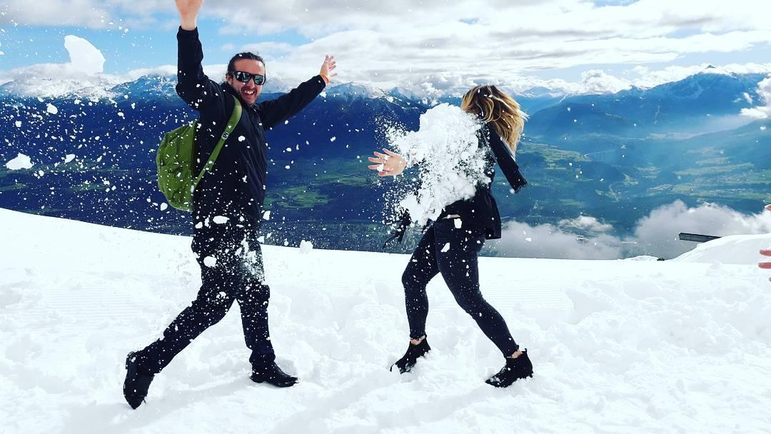 snow-fight