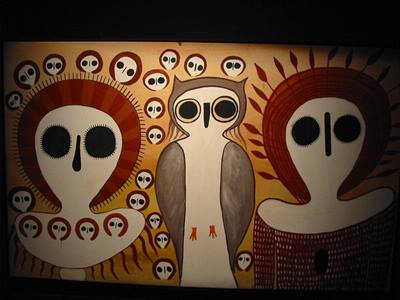 aboriginal-art-owls