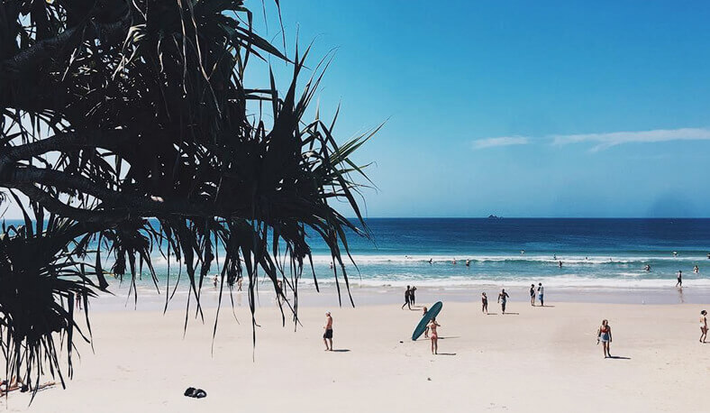 Learn to surf and live out your bohemian dreams at Byron Bay, Australia