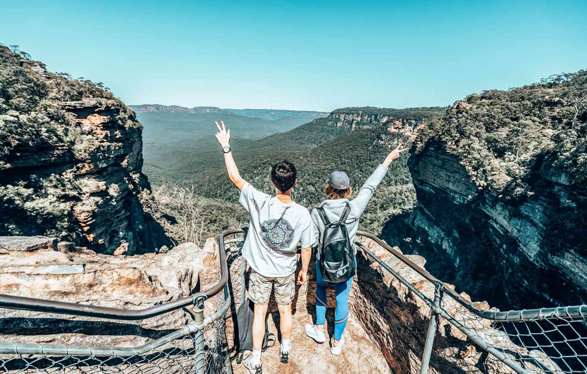 young people in Blue Mountains in New South Wales